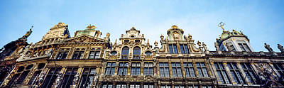 Low Angle View Of Grand Place Art Print
