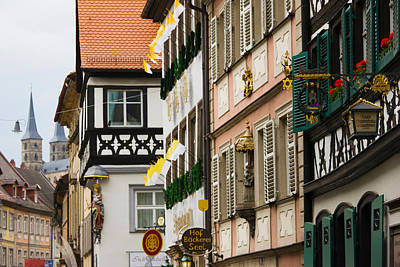 Bamberg Photograph - Low Angle View Of Lower Town Buildings by Panoramic Images