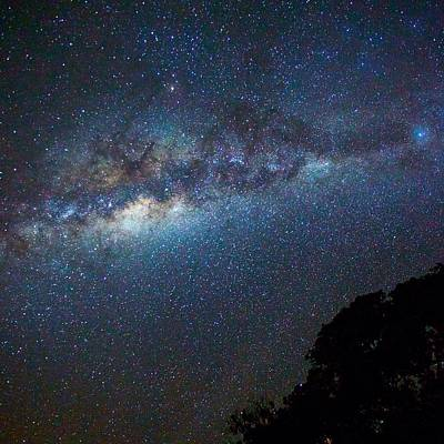 Low Angle View Of Majestic Star Field Art Print by Brent Purcell / Eyeem