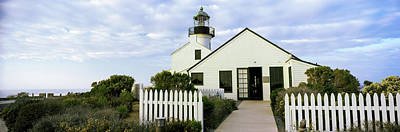 Low Angle View Of Point Loma Art Print by Panoramic Images