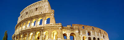 Built Structure Photograph - Low Angle View Of Ruins Of An by Panoramic Images