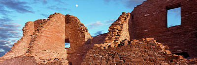 Chaco Photograph - Low Angle View Of Ruins Of Ancestral by Panoramic Images
