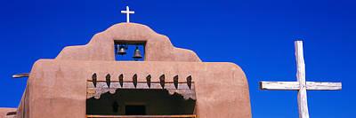 Santa Rosa Photograph - Low Angle View Of Santo Tomas Church by Panoramic Images