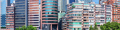 Hong Kong Photograph - Low Angle View Of Skyscrapers, Hong by Panoramic Images