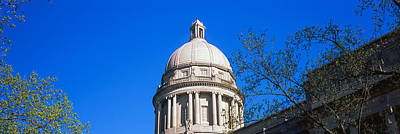 Franklin Photograph - Low Angle View Of State Capitol by Panoramic Images