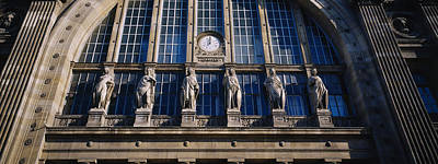 Low Angle View Of Statues On A Railroad Art Print by Panoramic Images