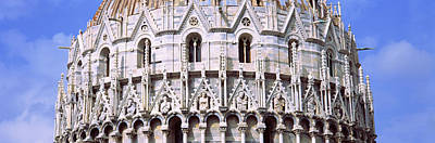 Baptistry Photograph - Low Angle View Of The Baptistry Of St by Panoramic Images