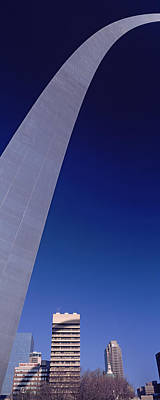 Gateway Arch Photograph - Low Angle View Of The Gateway Arch, St by Panoramic Images