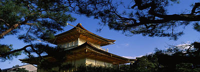 Kinkaku-ji Photograph - Low Angle View Of Trees In Front by Panoramic Images