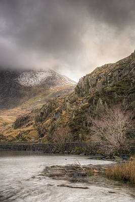 Mountain Photograph - Low Cloud by Christine Smart