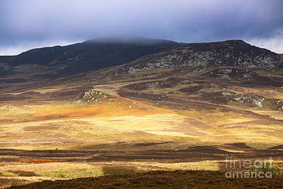 Autumn Scene Photograph - Low Cloud Over Highlands by Jane Rix