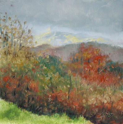 Painting - Low Clouds by Linda Eades Blackburn