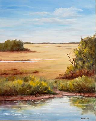 Painting - Low Country Drama by Glenda Cason