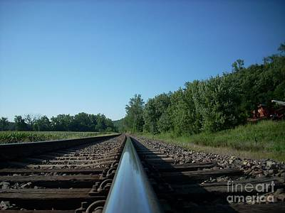 Photograph - Low Down The Tracks by Mark McReynolds