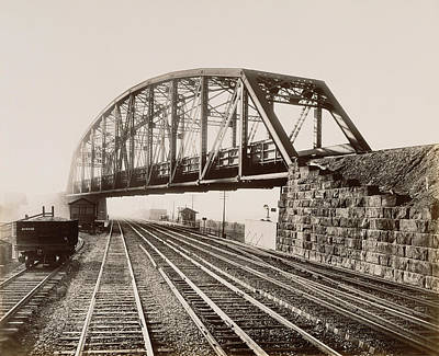 Pennsylvania Drawing - Low Grade Crossing At Whitford. William H by Litz Collection