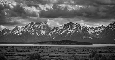 Teton Wall Art - Photograph - Low Hangers by Kristopher Schoenleber