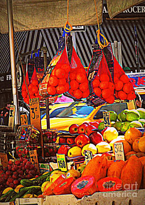 Low-hanging Fruit Art Print by Miriam Danar