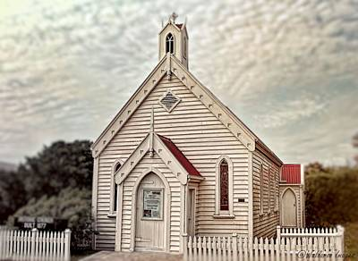Photograph - Low Head Chapel Tasmania by Wallaroo Images