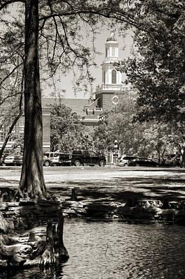 Oklahoma State University Photograph - Low Library by Ricky Barnard
