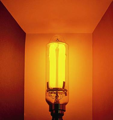 Low-pressure Sodium Lamp (lps) Art Print
