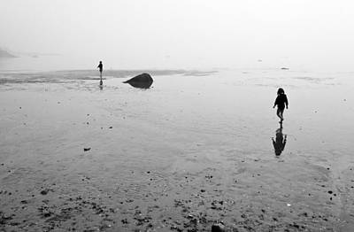 Photograph - Low Tide And Fog by Arkady Kunysz