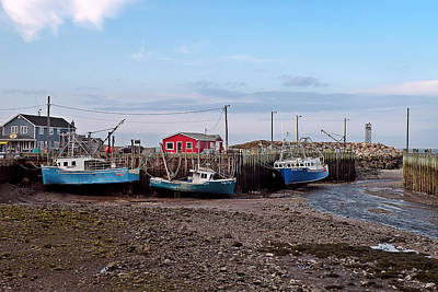 Photograph - Low Tide At Harbourville Nova Scotia by Brian Chase
