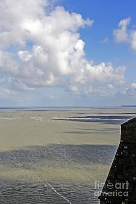 Photograph - Low Tide At Mont St Michel by Elvis Vaughn