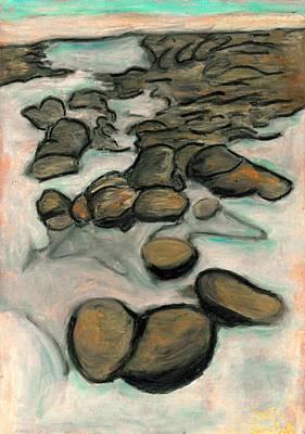 Low Tide Art Print by Carla Sa Fernandes