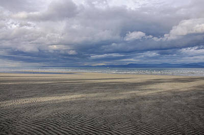 Photograph - Low Tide Sandscape by Roxy Hurtubise