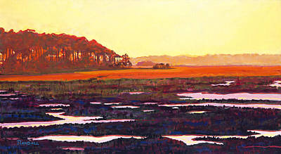 Painting - Low Tide by David Randall