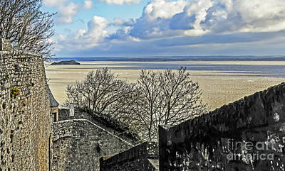 Photograph - From Mont St Michel by Elvis Vaughn