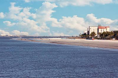 Low Tide - Fort Myers Beach Art Print