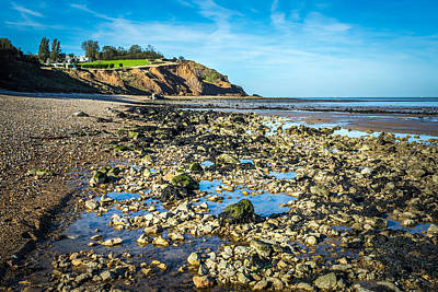 Art Print featuring the photograph Low Tide. by Gary Gillette