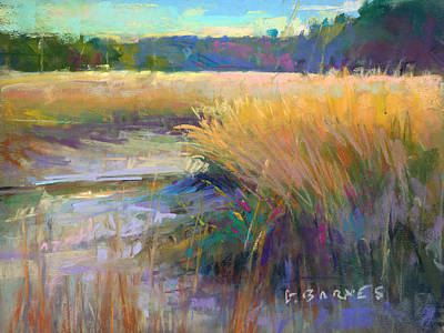 Painting - Low Tide by Greg Barnes