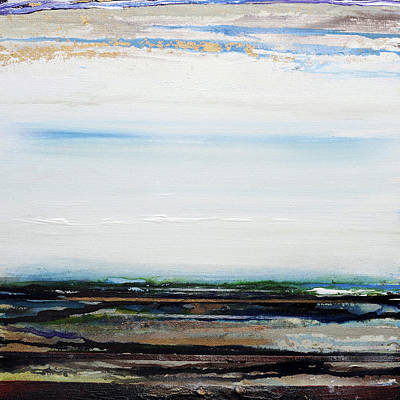 Mixed Media - Low Tide Hauxley Haven1a by Mike   Bell