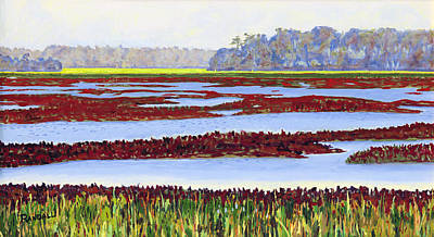 Painting - Low Tide II by David Randall