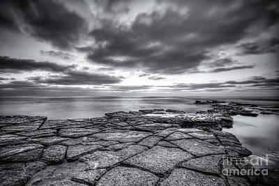 Coastal Landscape Photograph - Low Tide by Jennifer Magallon