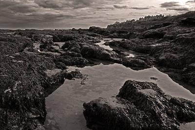 Water Droplets Sharon Johnstone - Low Tide by John Topman