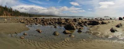 Ebbtide Photograph - Low Tide On Florencia Bay by Allan Van Gasbeck