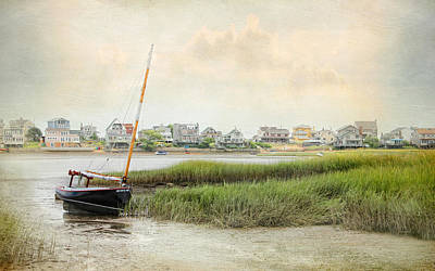 Photograph - Low Tide On The Basin by Karen Lynch
