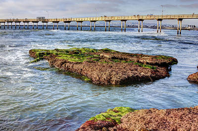 Digital Art - Low Tide by Photographic Art by Russel Ray Photos