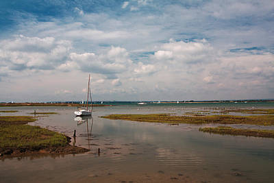 Low Tide Art Print by Shirley Mitchell