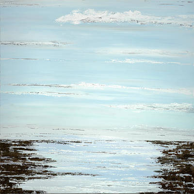 Cape Cod Painting - Low Tide by Tamara Nelson