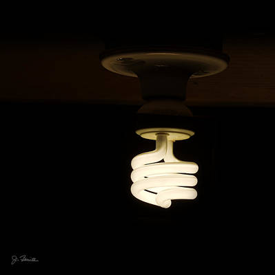 Photograph - Low Wattage Bright Idea by Joe Bonita