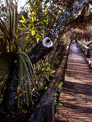 Painting - Lowcountry Bridge by Daniel Bonnell