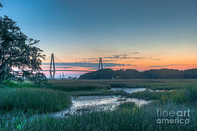 Photograph - Lowcountry Bridge View by Dale Powell