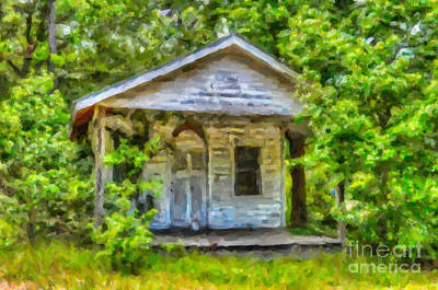 Photograph - Lowcountry Home by Dale Powell