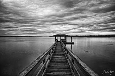 Boating Digital Art - Lowcountry Long Dock by Phill Doherty