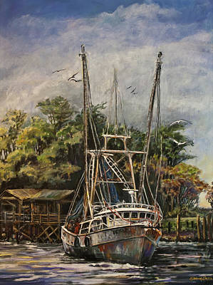 Painting - Lowcountry Veteran by Sharon Sorrels