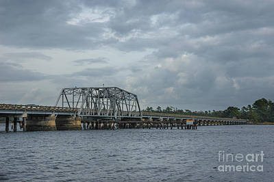 Photograph - Lowcountry Wando River Bridge by Dale Powell